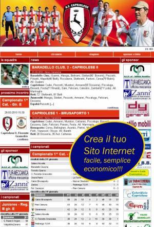 Crea sito internet